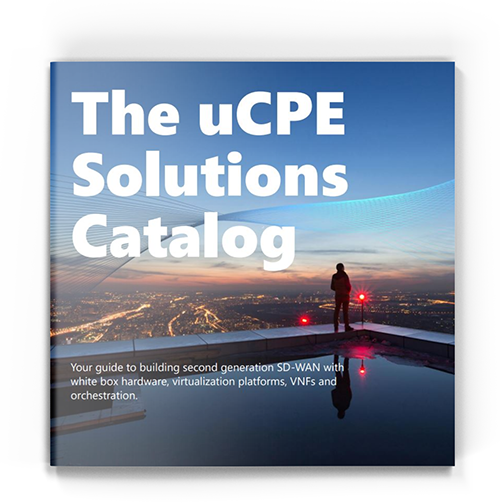 The uCPE Solutions Catalog Cover