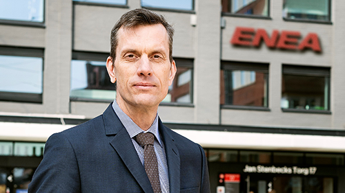 Jan Häglund - CEO Enea